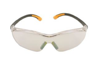 Laser 5674 Safety Goggles - Clear/Mirror